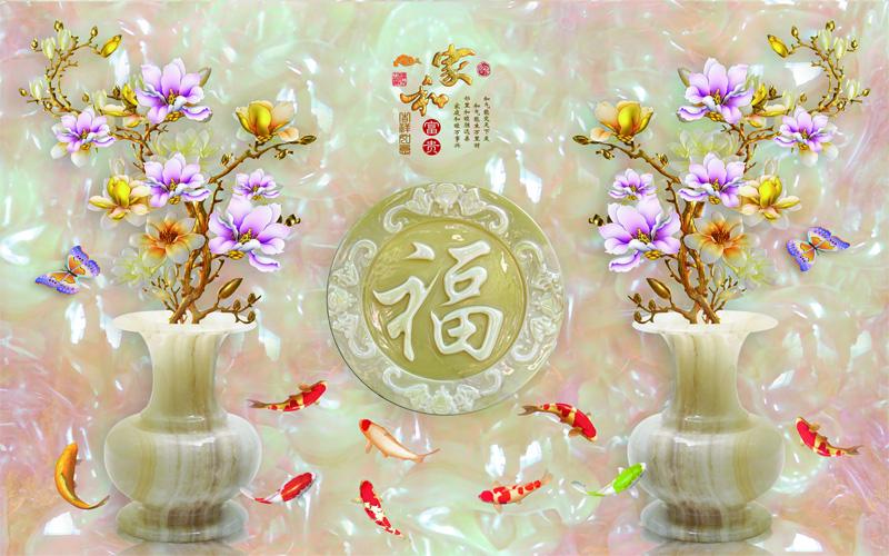 Tranh bình hoa