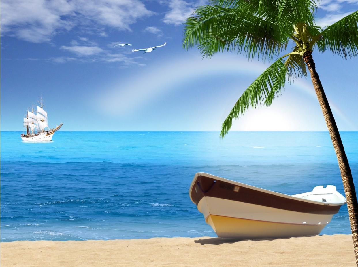 Tranh 3D biển