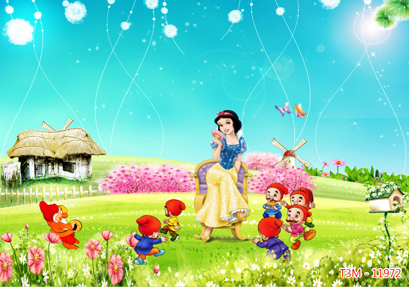 Tranh 3D trẻ em
